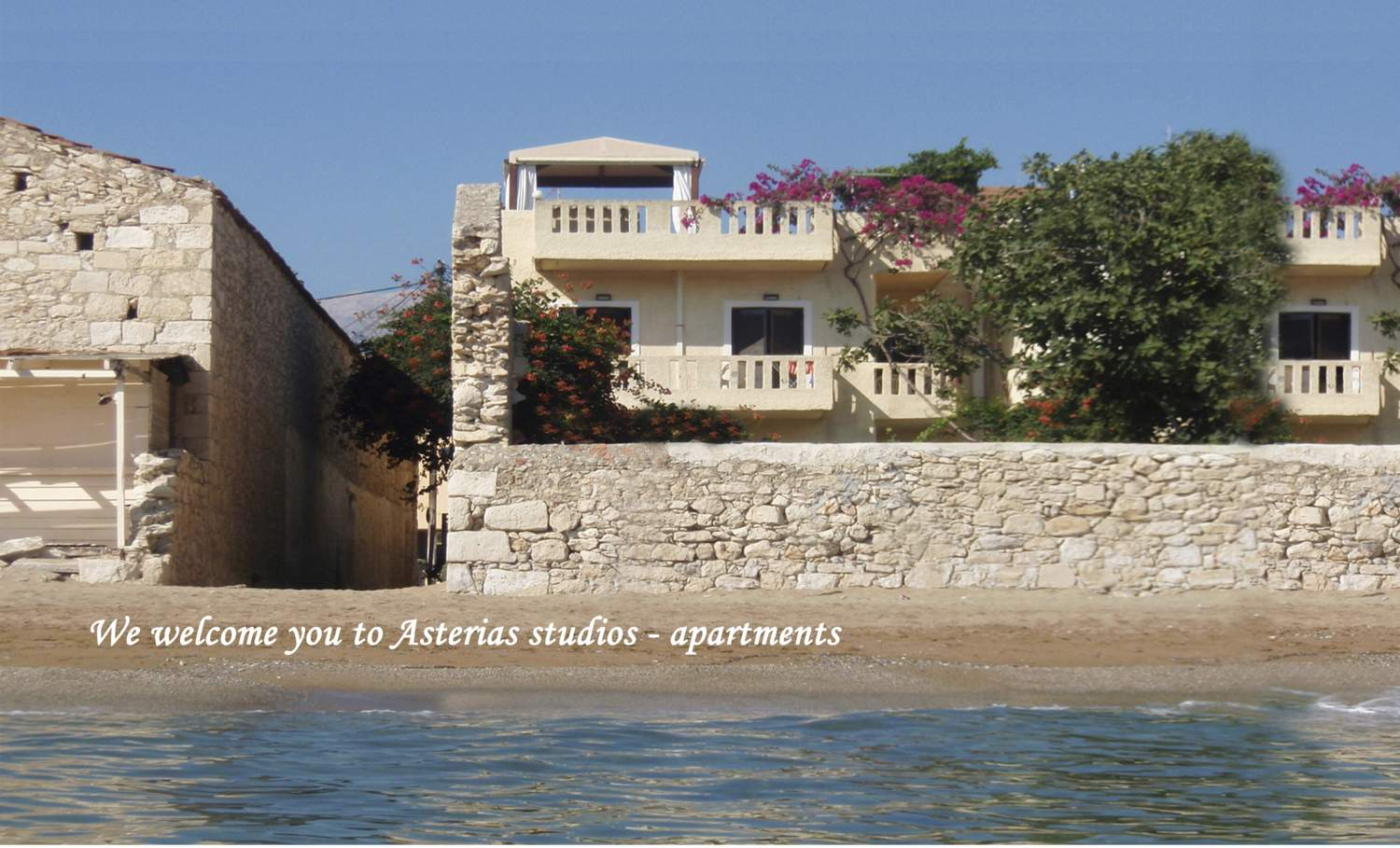 Asterias sea view studios Chania Crete